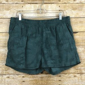 Columbia Silver Ridge Shorts Hiking Quick Dry Camo
